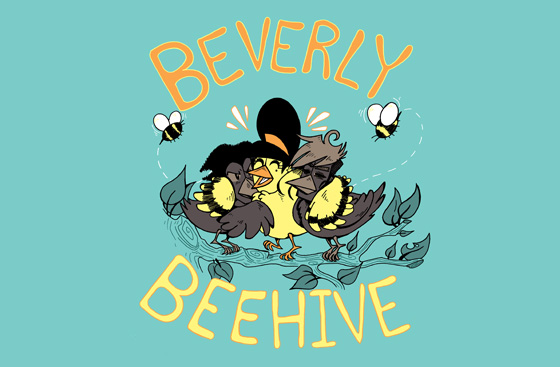 BEVERLY BEEHIVE AVAILABLE ON GRAPHICLY
